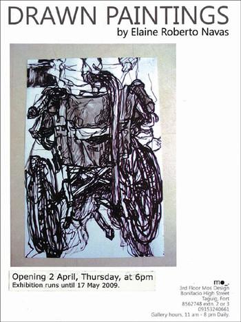 Elaine Roberto Navas: Drawn Paintings