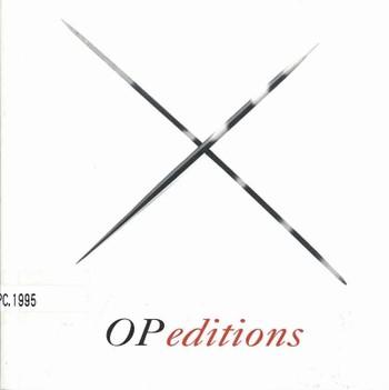 OP editions 9501