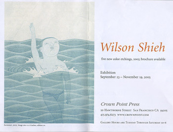 Wilson Shieh: five new etchings