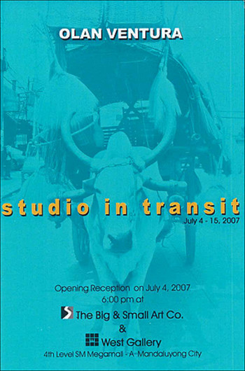 Studio in Transit: Olan Ventura