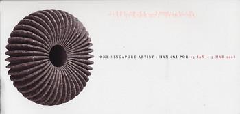 One Singapore Artist: Han Sai Por