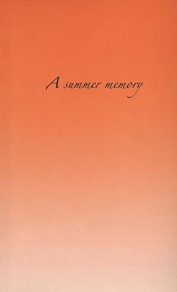 A Summer Memory by Pratchaya Phinthong