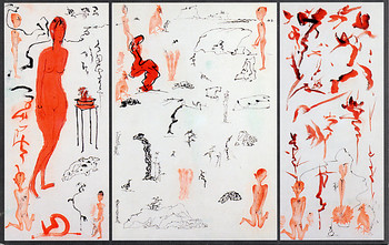 Yu Peng Paintings and Pottery
