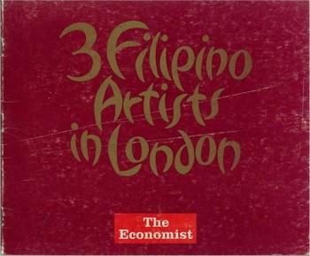 3 Filipino artists in London