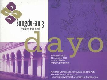 Sungdu-an 3: making the local, Dayo