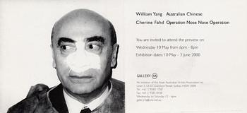 William Yang: Australian Chinese & Cherine Fahd: Operation Nose Nose Operation