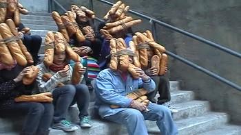 Tatsumi Orimoto Performance: Bread-Men
