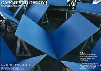 Roberto Chabet: Cargo and Decoy