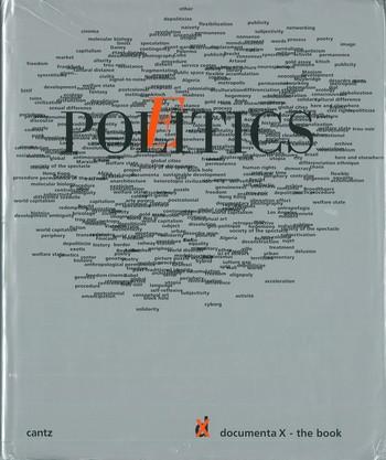 PoliticsPoetics Documenta X - The Book_Cover