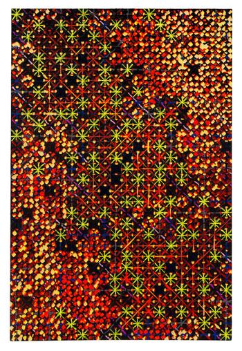 丁乙,《十示2020-C6》,2020年。由藝術家提供。