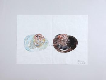 沈遠,《Sketch for Project O, Expo 2010, Shanghai》 ,2010年。由藝術家提供。