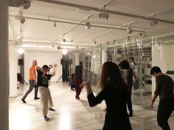 Image: ÇAP sessions: <i>Body and Moving</i> workshop with Nazlı Gürlek, 2019. Photo: Zeyno Pekünlü.