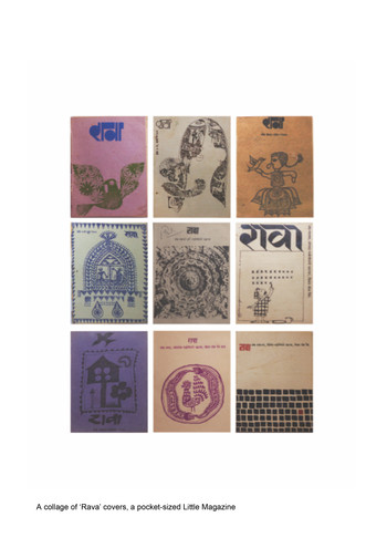 Image: A collection of 'Rava' a pocket-sized Little Magazine. Courtesy of Satish Kalsekar's Collection.