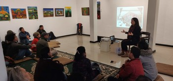 Sharing Session with Independent Arts Organisations of Kathmandu.