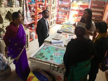 Visit to Janakpur Women's Development Centre.