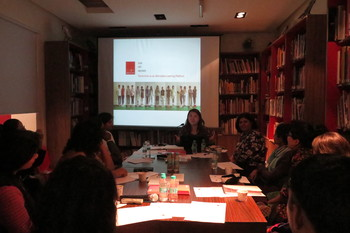 Image: Art Education Network Roundtable in India, 2015.