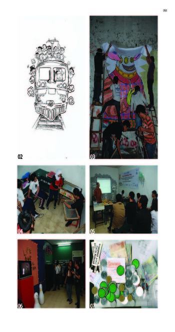 Image: From The Organic Map of Artists-run-initiatives/space in Indonesia