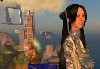Cao Fei, <i>RMB CITY: A Second Life City Planning</i>, 2007 , Internet project.