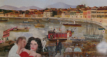 China Trade! Macau, 2009, oil on canvas