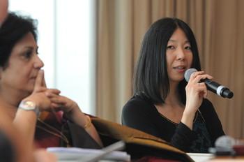 Image: Speaker June Yap