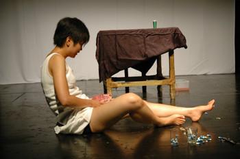 Artist Leung Wai-man.