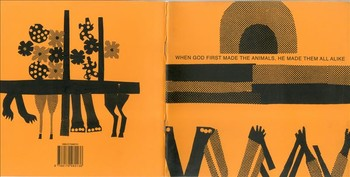 K.G. Subramanyan, When God First Made the Animals, He Made Them All Alike, Illustrated Book