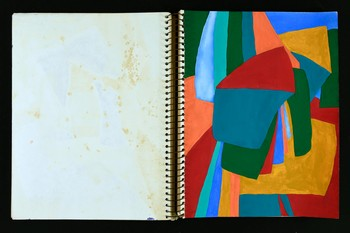 Image: Lee Wen, sketchbook, 1978. Lee Wen Archive, Asia Art Archive.