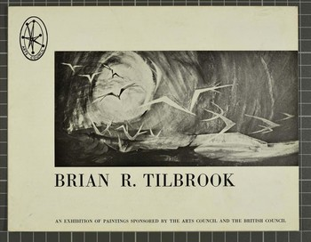 Image: Brian R. Tilbrook: An Exhibition Sponsored by the Arts Council and the British Council — Cat
