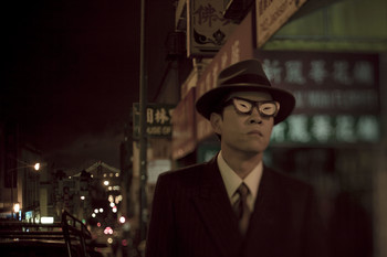 Image: Ming Wong, <i>After Chinatown</i>, 2012, video, production still. Photo: Carlos Vasquez. Courtesy of the artist.