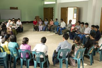 Image: Mobile Library: Myanmar, 2014. Photo: FluxKit.