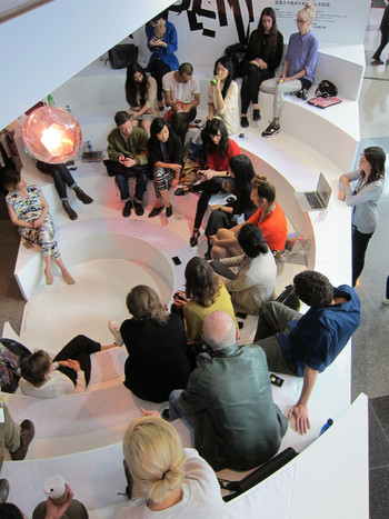 Image: 'Cultural Residencies in China' Open Platform session at Art Basel 2015.