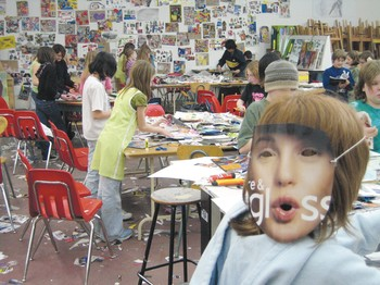 Image: Collage Party, Victoria School of Performing and Visual Arts.