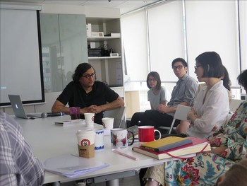 Image: Innovation Through Tradition: A Comparative Look at Ink, Calligraphy, and Miniature, workshop, 22-23 July, 2014.