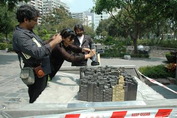 Raqs Media Collective at Kowloon Walled City Park, Hong Kong
