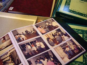 Roberto Chabet's photo albums of past exhibitions, photographed by Ringo Bunoan. (1)