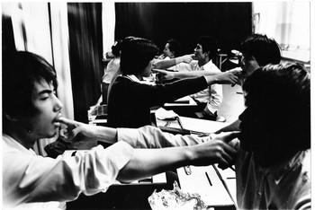 Image: Natsuyuki Nakanishi Atelier at  Bigakkō, 1969.