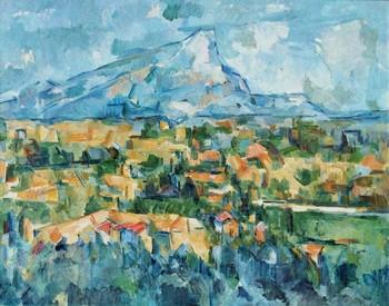 Paul Cézanne,Mont Sainte-Victoire。