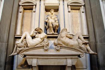 Michelangelo Buonarroti, Tomb of Giuliano de' Medici.