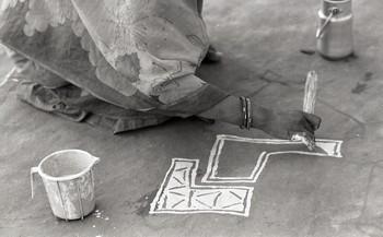 People and Mandana Paintings (1981)—Reel 02