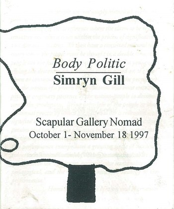 Simryn Gill Body Politic_Cover