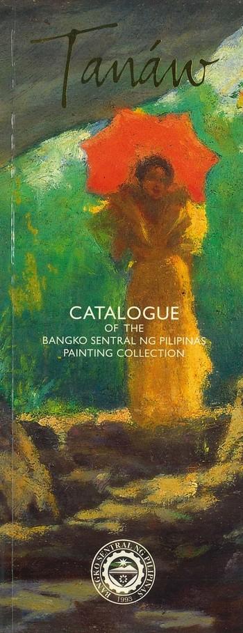 Tanaw Catalogue of the Bangko Sentral Ng Pilipinas Painting Collection_Cover