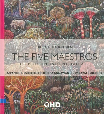 The Five Maestros of Modern Indonesian Art_Cover