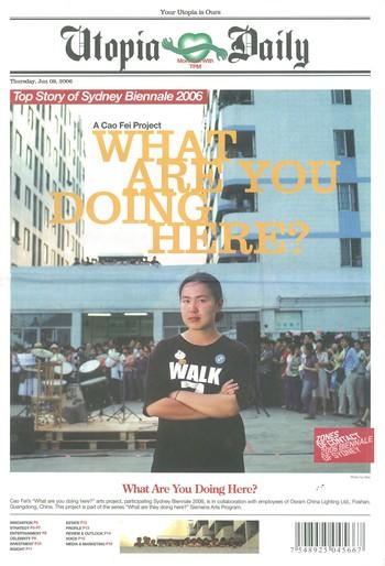 Utopia Daily (8 June 2006)_Cover