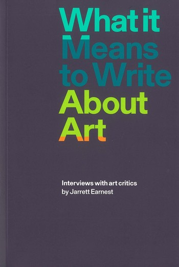 What It Means to Write about Art_Cover
