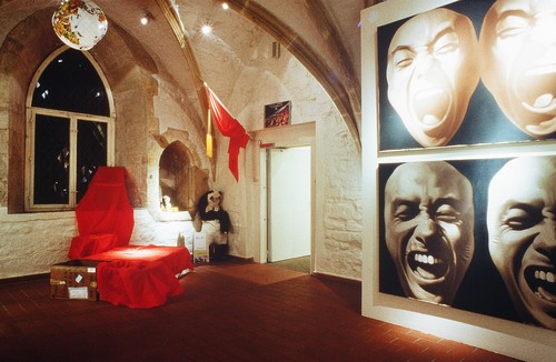 China Avantgarde Exhibition at Roemer Museum, Hildesheim —Preparation