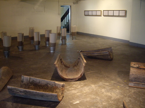 Cut Boat (Work After Chabet #5) (Exhibition View)