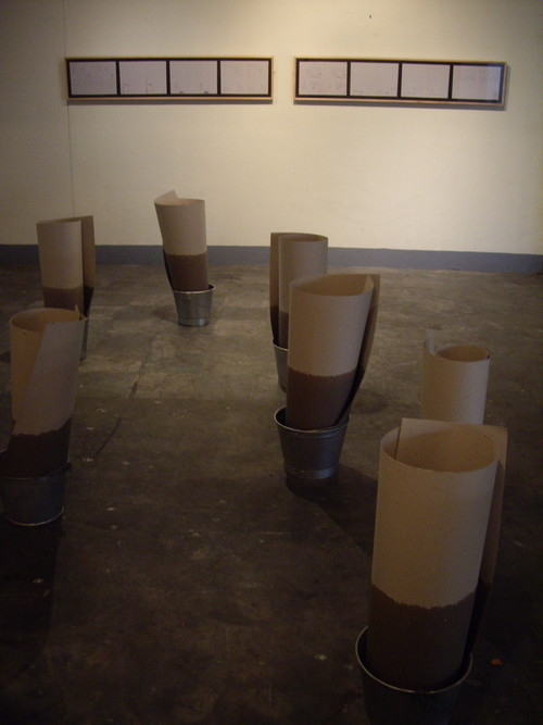 For Lee Aguinaldo (Work After Chabet #3) (Exhibition View)