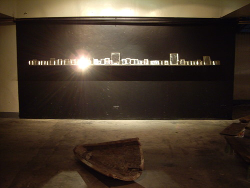 Untitled (Work After Chabet #4) (Exhibition View)