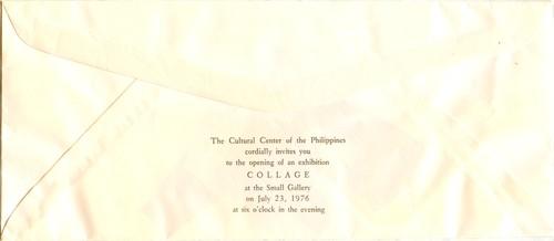Collage — Exhibition Invitation