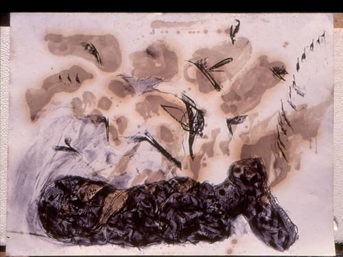Death of Akkadian Soldier